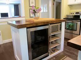 Diy Breakfast Bar Portable Kitchen Island With Breakfast Bar The Randall Portable