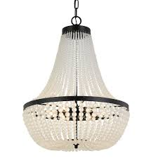 matte black chandelier hover to zoom