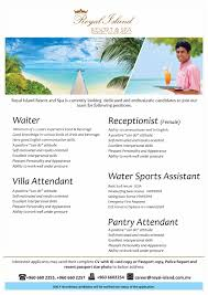 kandima job mv feb 5 royal island resort spa