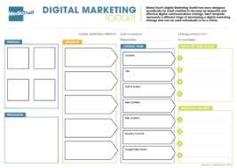 Digital Marketing Strategy Template Media Trust