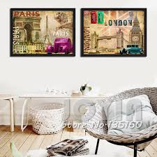 aliexpress com buy 2 pieces wall art canvas pictures decor