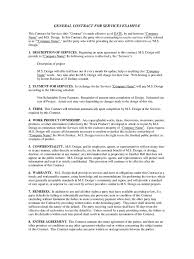 Example Contracts For Services