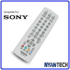 sony tv remote control replacement. sony rca crt tv remote control replacement flat screen controller sony tv