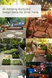 backyards design. 40 Amazing Backyard Design Ideas For Small Yards Backyards E