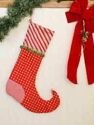 Christmas Stocking Sewing Pattern Mesmerizing 48 Christmas Stocking Patterns For FREE DIY