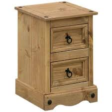 Mexican Pine Bedroom Furniture Corona Mexican Pine Bedside Cabinet Petite Charlies Direct