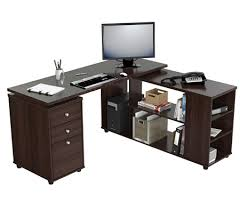 shaped computer desk office depot. Inval L Shaped Computer Workstation Espresso Wengue By Office Depot \u0026 OfficeMax Desk O