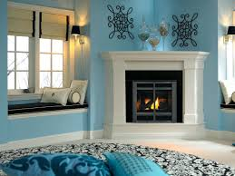 corner gas fireplace mantel designs surround ideas ventless mantels