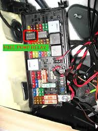 relay fuse box in trunk overheating car not starting mercedes attached images