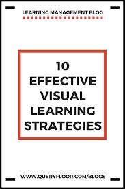Visual Learning Strategies Visual Learning Strategies Education