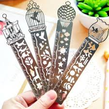 24pcs/<b>lot</b> Korea Zakka Vintage Hollow style stainless <b>steel</b> ruler ...