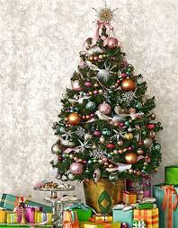 The Domestic Curator: Mini Christmas Trees, An Extra Touch