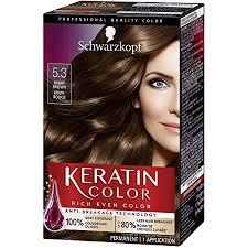 Amazon.com : Schwarzkopf Keratin Color Anti-Age Hair Color Cream ...