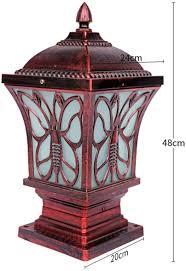 Pillar Solar Lights For Outdoors Amazon Com Market The Stylish Extra Large Solar Post Cap