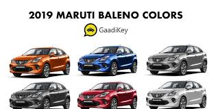 Nexa Auto Color Chart Maruti Baleno Colors Red Blue Silver Orange White