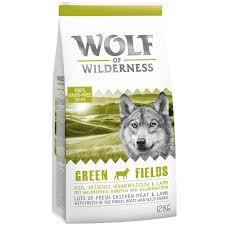 Avis clients sur Wolf of Wilderness Adult Green Fields, agneau pour chien    zooplus