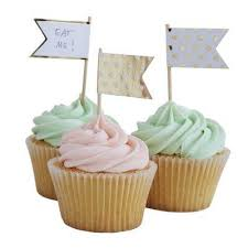 Cakecupcake Toppers Stylish Party Supplies Must Love Party