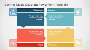 Gartner Magic Quadrant Powerpoint Template