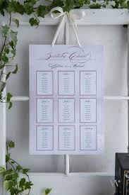 vintage lace seating chart diy seating chart kit