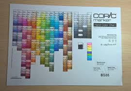 Copic Chart 16 Exhaustive Blank Copic Color Chart 2019