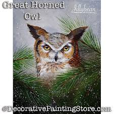 great horned owl pdf