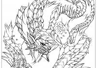 Monster Legends Coloring Pages Printable Coloring Page For Kids