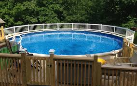 above ground pool with deck attached to house. Round Above Ground Pool Decks Best Design With Deck Attached To House S