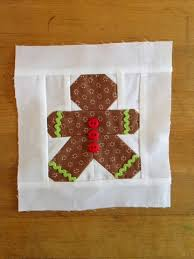 Farm Wife Journal: Have Yourself a Quilty Little Christmas & This sweet Gingerbread man is also a free block. I have to say this little  Mr. Cookie had the tiniest blocks I've ever pieced, but it came together  easily. Adamdwight.com