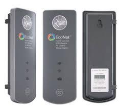 rheem water heater logo. rheem econet water heater controller logo