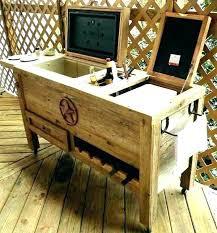 wooden deck cooler wooden cooler stand outdoor cooler stand wooden deck coolers outdoor cooler ideas outside wooden deck cooler wood outdoor