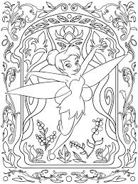 Coloring Pages For Girls Disney People And Places Adult Coloring