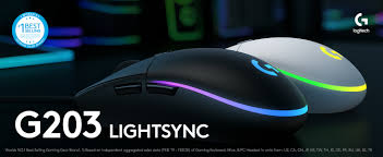 The logitech g203 prodigy is a great gaming mouse that has excellent performance thanks to its very low click latency and wide cpi range. Logitech G203 Lightsync Wired Gaming Mouse Black