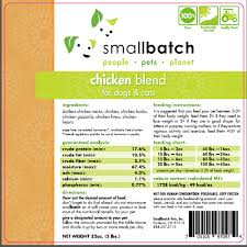 Smallbatch Dog And Cat Food Recall Due To Salmonella Dr
