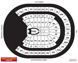 13 All Inclusive Wells Fargo Center Seating Chart Ariana Grande