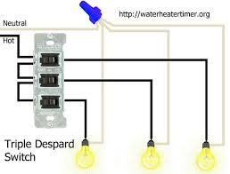 how to wire switches triple despard switches