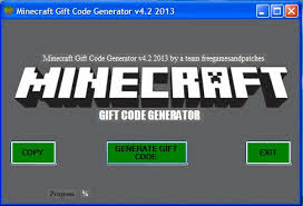 minecraft gift code generator v4 2 2016 new version 2016 tested 2016