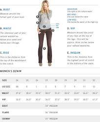 Big Star Size Chart High Hips Fashion Cute Outfits