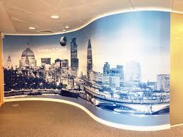 Small Picture Curved Wall Graphic by vinyl Impression Office Wall Inspiration