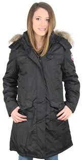canada weather gear women 039 s faux down