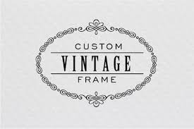 vintage frame design png. How To Create A Beautiful Vintage Frame In Illustrator Design Png I