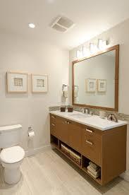 mid century modern bathroom lighting. Spacious Bathroom Mid Century Modern Coastal Getaway Midcentury At Lighting T