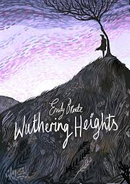 wuthering heights by emily bronte book cover desiign by karl james mountford