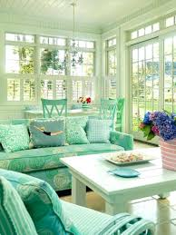 white indoor sunroom furniture. Indoor Sunroom Furniture Sets Turquoise Sofa 3 Piece White Coffee Table Decorative Pillow Matching Dining Set