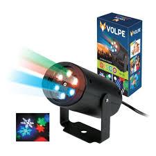 <b>Светодиодный светильник-проектор Volpe ULI-Q306</b> 4W/RGB ...
