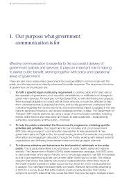 government communications plan  11