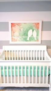 Coral and Mint Nursery