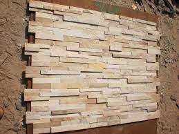 beige multi stone wall cladding wall