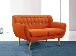 mid century modern loveseat. Mid Century Modern Loveseat Style Sofa With .
