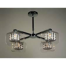 avignon 4 light pendant ceiling light with weaved wire detail