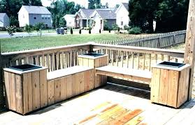 patio bench seating ideas deck bench seating with storage patio bench storage deck bench with storage